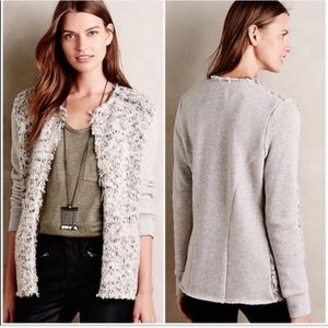 Anthropologie Elevenses Dalena Knit Cardigan